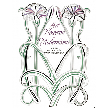 ART NOUVEAU-MODERNISMO Libro Antiestrés