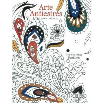 ARTE ANTIESTRÉS, Libro para colorear