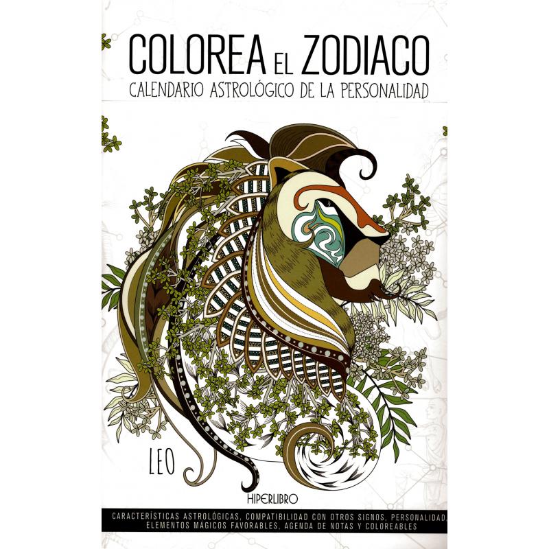 COLOREA EL ZODIACO Calendario astrológico de la personalidad