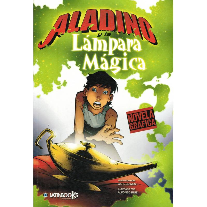 NOVELA GRAFICA: ALADINO Y LA LÁMPARA MAGICA